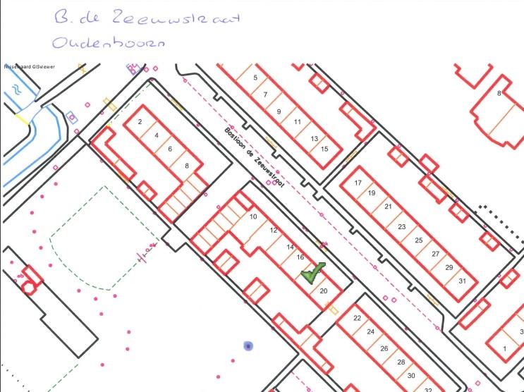 Kapmelding 5-1-2016 | 1 boom, achterzijde Bastiaan de Zeeuwstraat 18 – Oudenhoorn