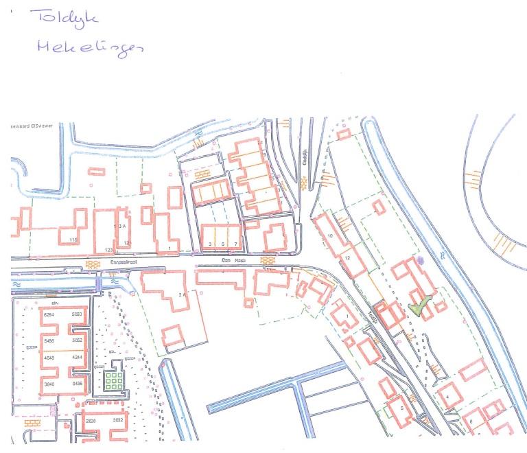 Kapmelding 5-1-2016 | 1 boom, achterzijde Toldijk 2 – Spijkenisse