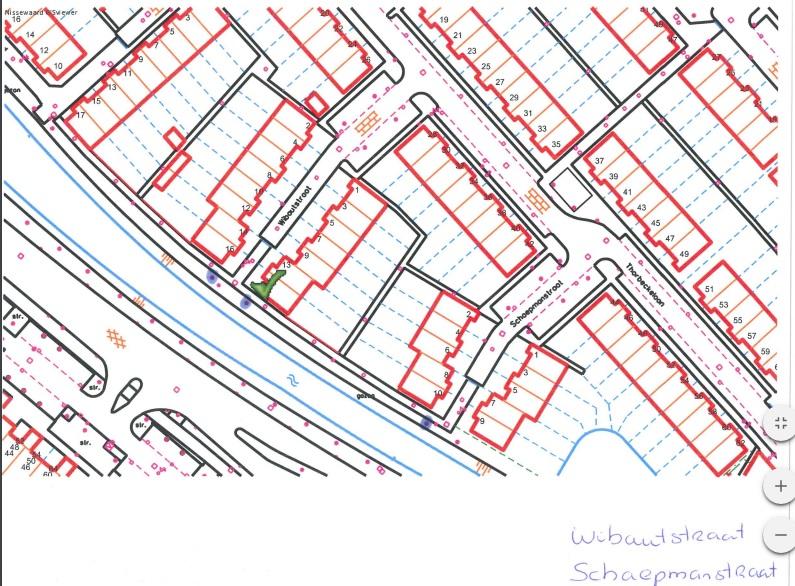 Kapmelding 5-1-2016 | 2 bomen, naast Wibautstraat 11 en 16 – Spijkenisse