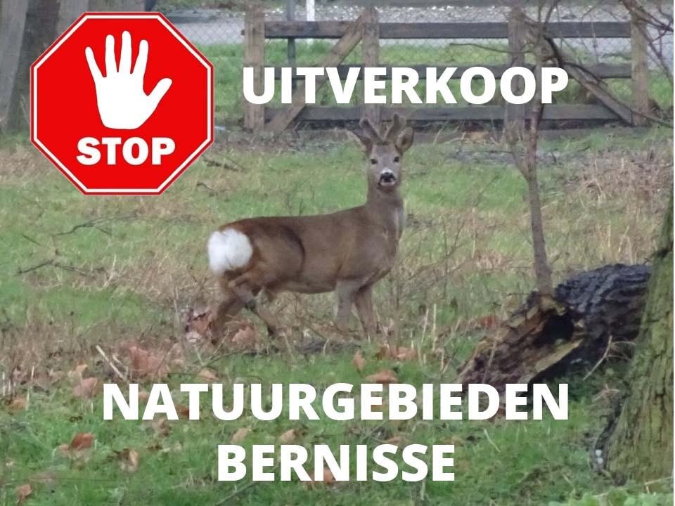 Petitie Uitverkoop Natuur Bernisse